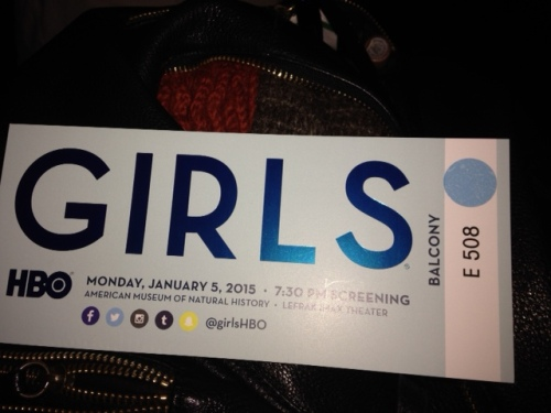 hbo girls season 4 premiere party ticket on carpoolcandy.com