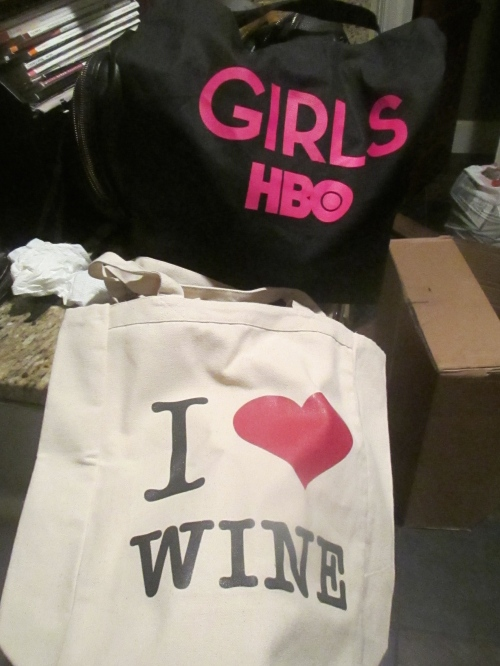 hbo girls season 4 premiere party swag on carpoolcandy.com