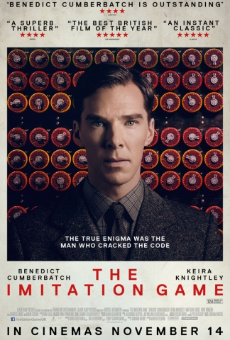 imitation game poster on carpoolcandy.com