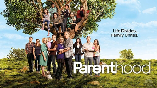 NBC parenthood poster on carpoolcandy.com