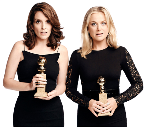 tina fey amy poehler golden globe hosts 2015 on carpoolcandy.com