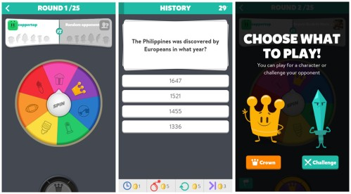 Trivia Crack Game on carpoolcandy.com