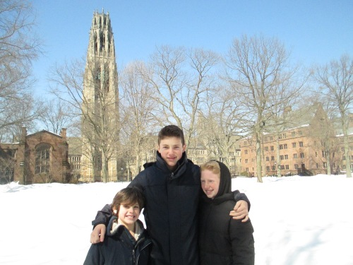 Boys at Yale campus n carpoolcandy.com