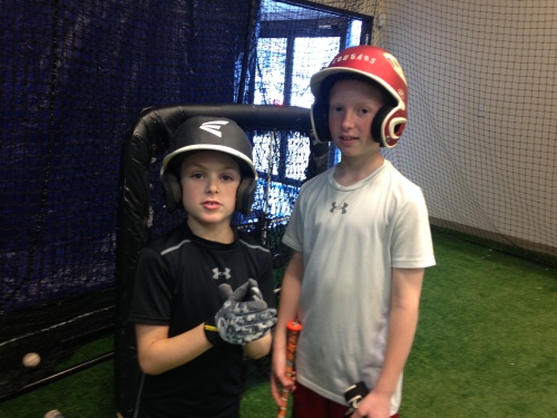Batting cages at Frozen Ropes on carpoolcandy.com
