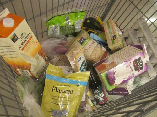Shopping at Whole Foods for a 7-day cleanse  on carpoolcandy.com