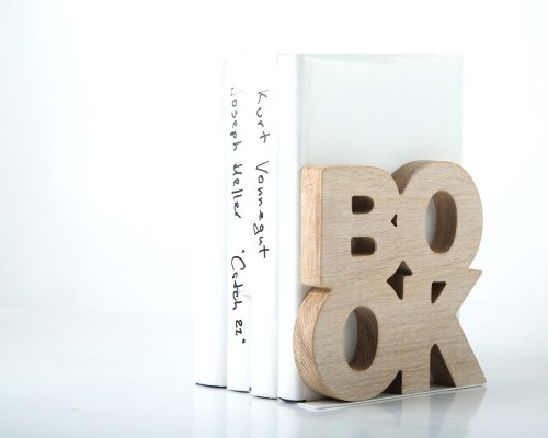 Stylish Bookends from Etsy on carpoolcandy.com