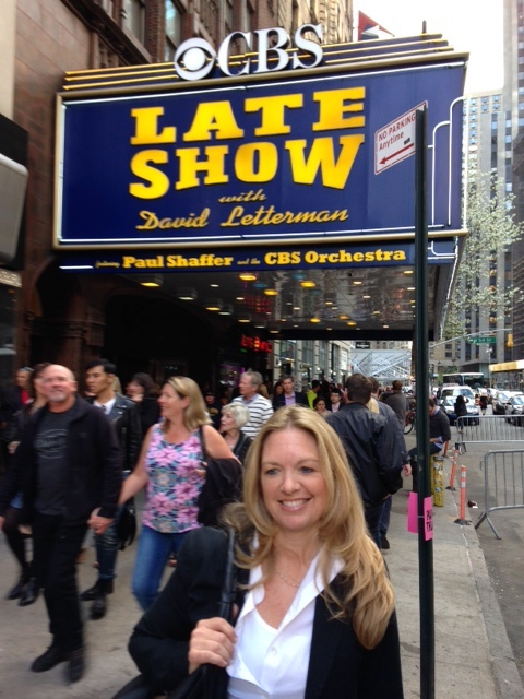 brooke at late show NYC on carpoolcandy.com