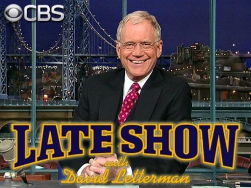 Letterman show logo