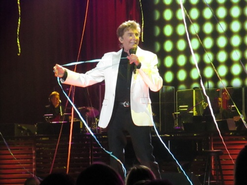 Barry Manilow concert on carpoolcandy.com