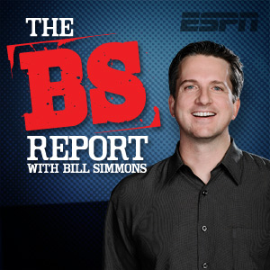 BS Report podcast logo on carpoolcandy.com