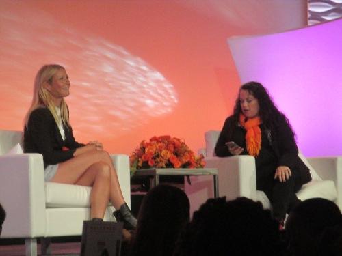Gwyneth Paltrow at BlogHer15 NYC highlights on carpoolcandy.com