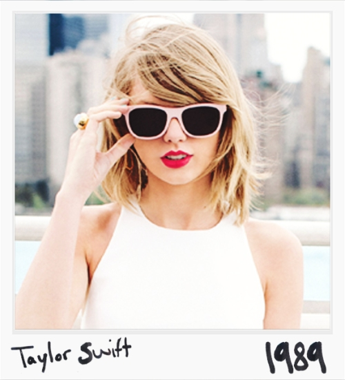 Taylor Swift 1989 poster on carpoolcandy.com