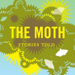 the moth podcast graphic on carpoolcandy.com