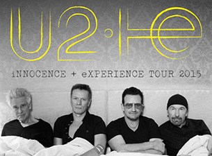 U2 2015 tour poster