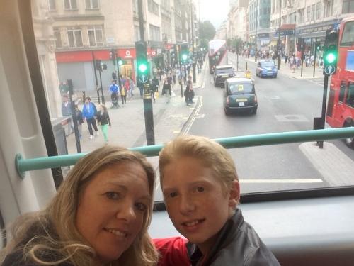 London bus on carpoolcandy.com