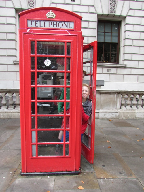 London phone booth on carpoolcandy.com