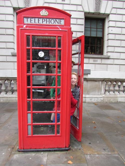 London phone booth on carpoolcandy.com