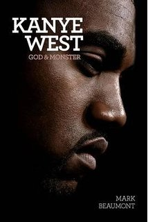 kanye west god and monster book cover on carpoolcandy.com