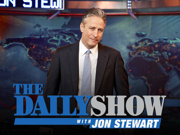 the daily show with jon stewart logo on carpoolcandy.com