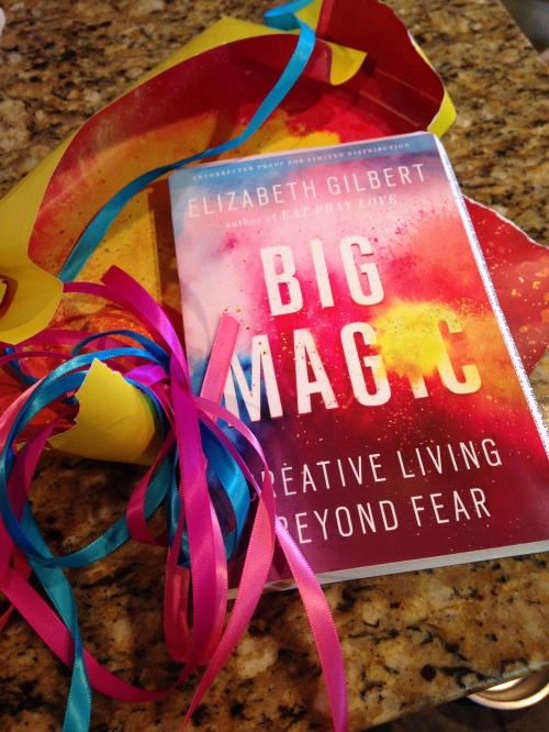 Big Magic cover on carpoolcandy.com