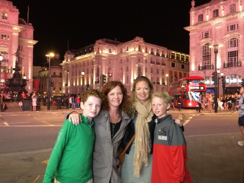 London with kids on carpoolcandy.com