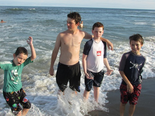 boys vacation LBI on carpoolcandy.com