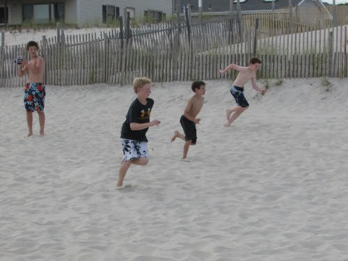 beach football in LBI on carpoolcandy.com