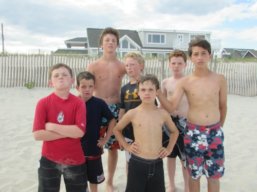 All boys vacation LBI on carpoolcandy.com