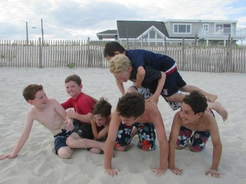 boys vacation LBI on carpoolcandy.com