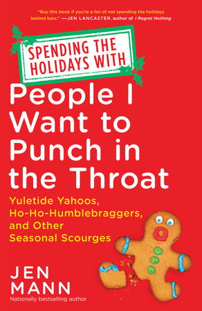 spending the holidays with people i want to punch in the throat cover on carpoolcandy.com