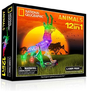 laser peg animal set on carpoolcandy.com holiday gift guide