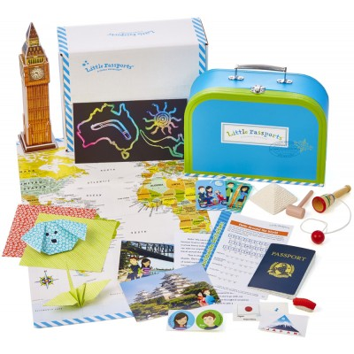 little passports package on carpoolcandy.com holiday gift guide