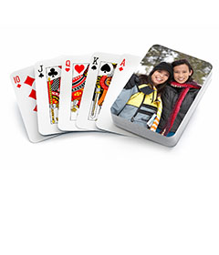 photo playing cards on carpool candy.com holiday gift guide
