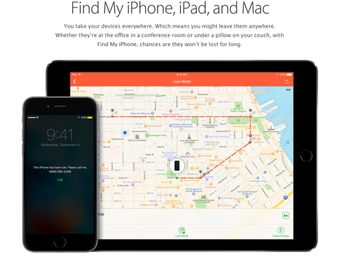 find my iPhone screen on carpoolcandy.com