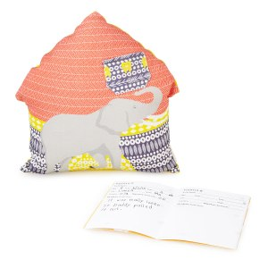 toothfairy pillow and journal on carpool candy.com holiday gift guide