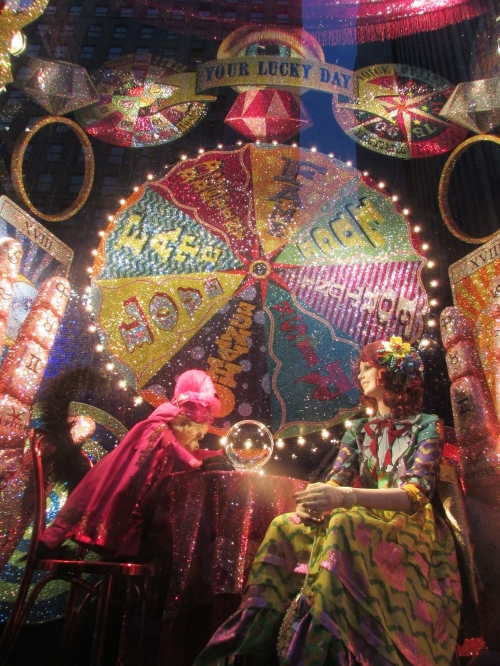 Bergdorf Goodman holiday windows on carpoolcandy.com