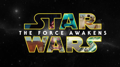 star wars force awakens movie poster