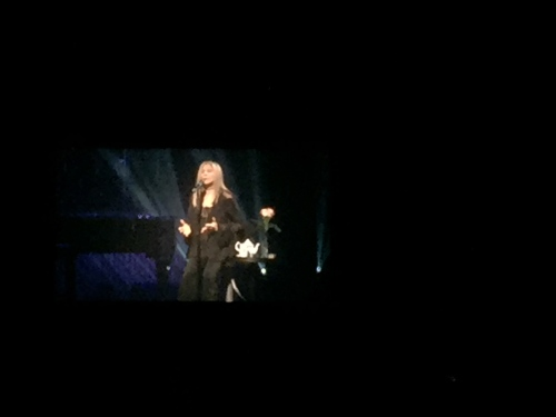 Barbra Streisand on tour at Barclays on Aug 11