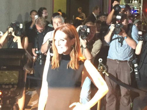Julianne Moore at Tom Ford fall show 2016