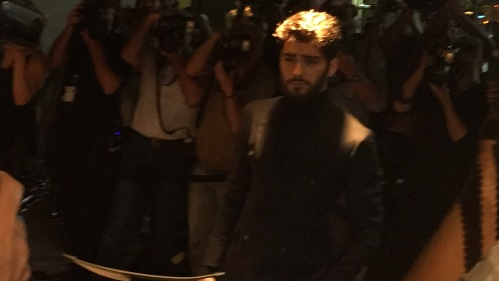 Zayn at Tom Ford fall fashion  show
