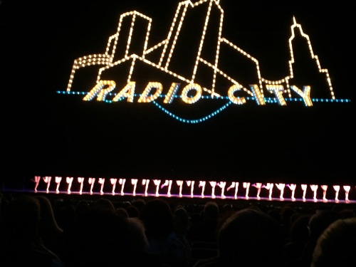 Radio Vity Rockettes making their leggy entrance