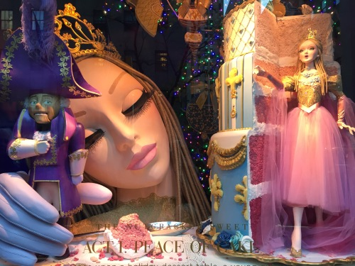 Sals Fifth Ave holiday windows 2016