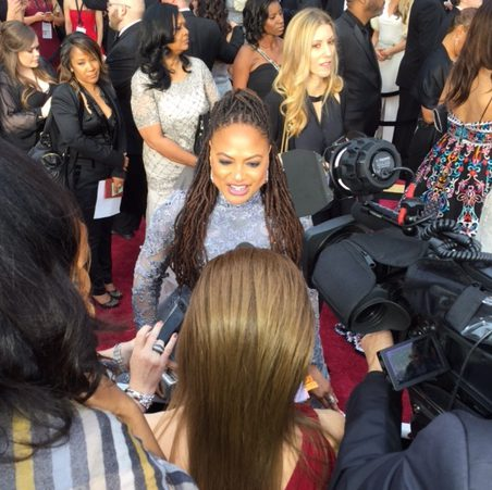Ava Duvernay Oscars red carpet 2017