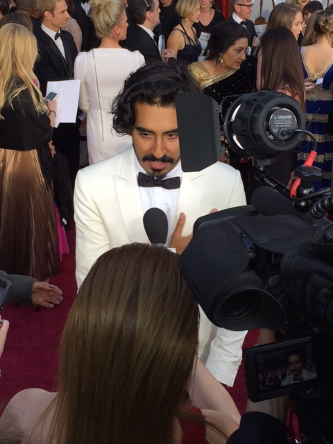 Dev Patel red carpet Oscars 2017