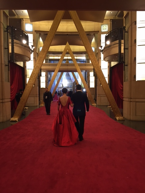 oscars-entrance