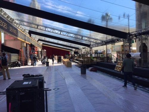 Oscars red carpet preps 2017