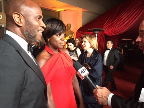 Viola Davis Governors Ball Oscars 2017